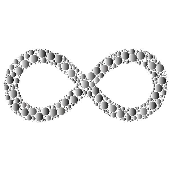 Prismatic Infinity Symbol Circles 4