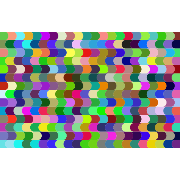 Prismatic Interlocking Waves Pattern