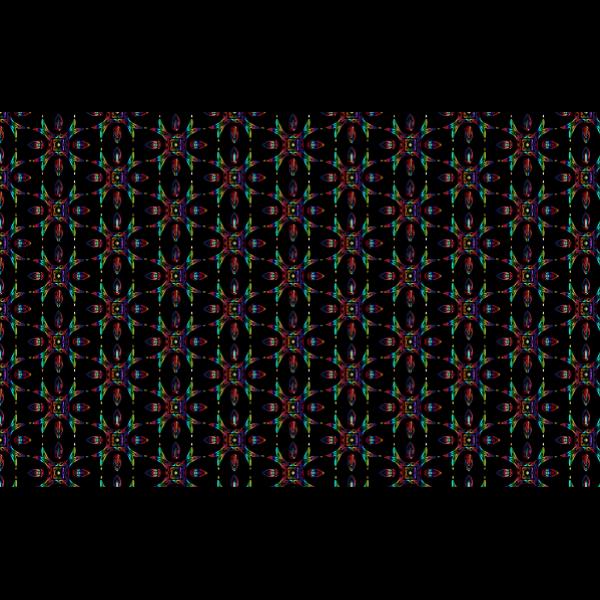 Prismatic iridescence pattern