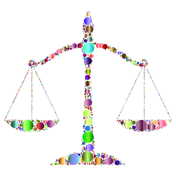 Prismatic Justice Scales Circles 3