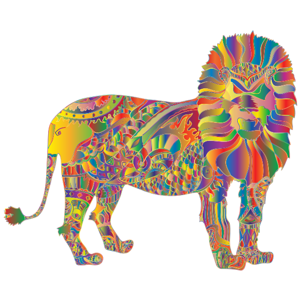 Prismatic Lion Redglove