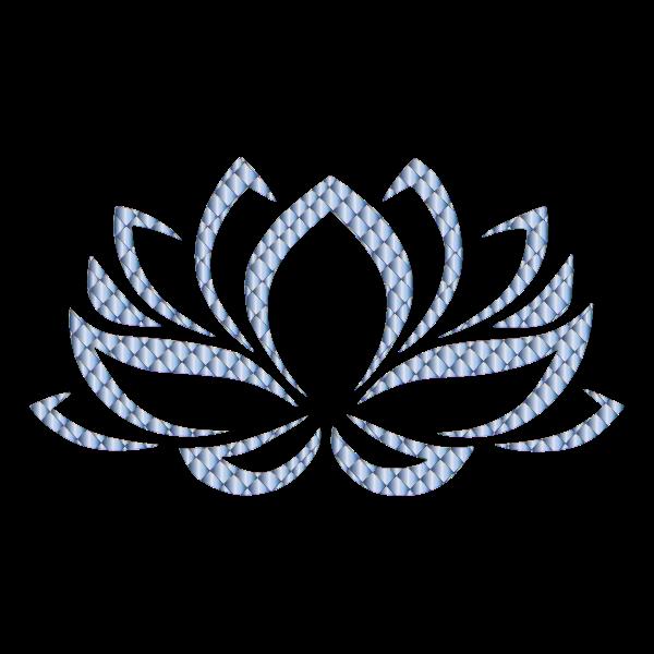 Prismatic Lotus Flower 11 No Background