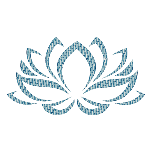Prismatic Lotus Flower 12 No Background