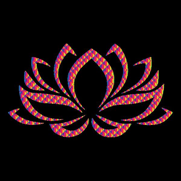 Prismatic Lotus Flower 8