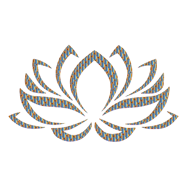 Prismatic Lotus Flower 9 No Background
