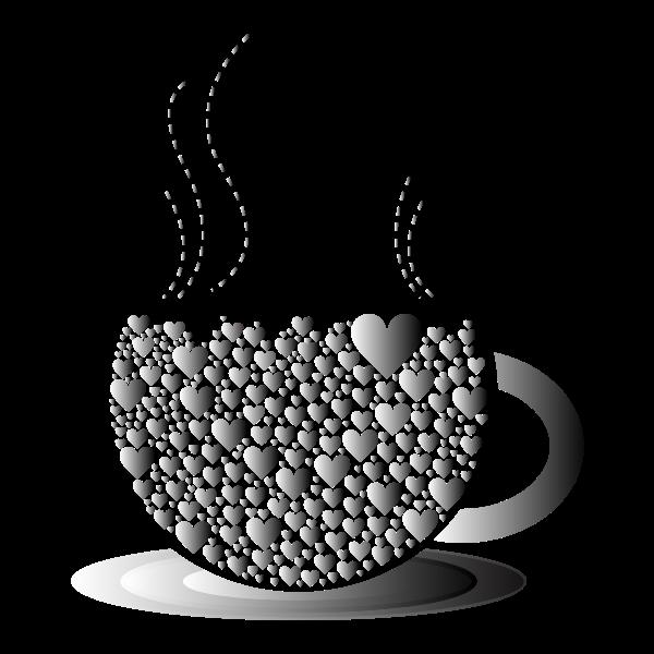 Prismatic Love Hearts Coffee By Lin Chu 4