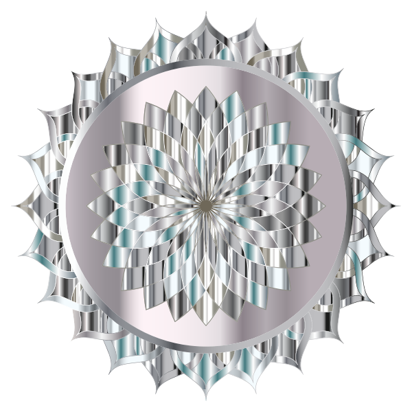 Prismatic Mandala Line Art 13