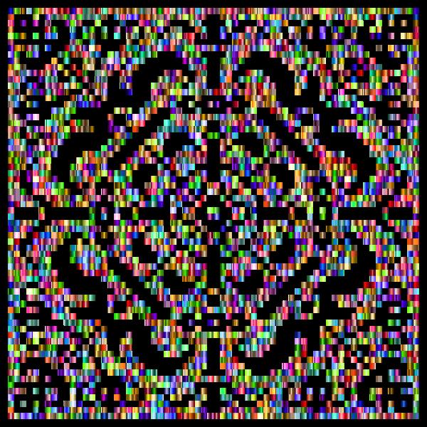 Prismatic Metropolitan Museum Pattern Recreated 4 No Background