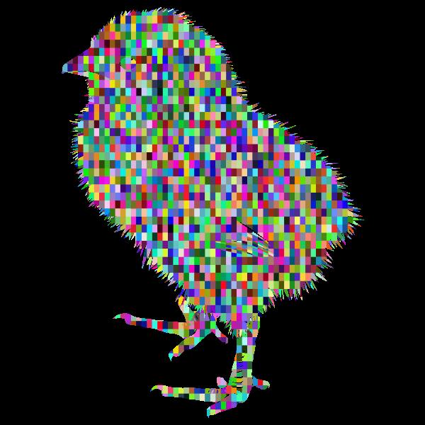 Prismatic Mosaic Gorkhs Chick