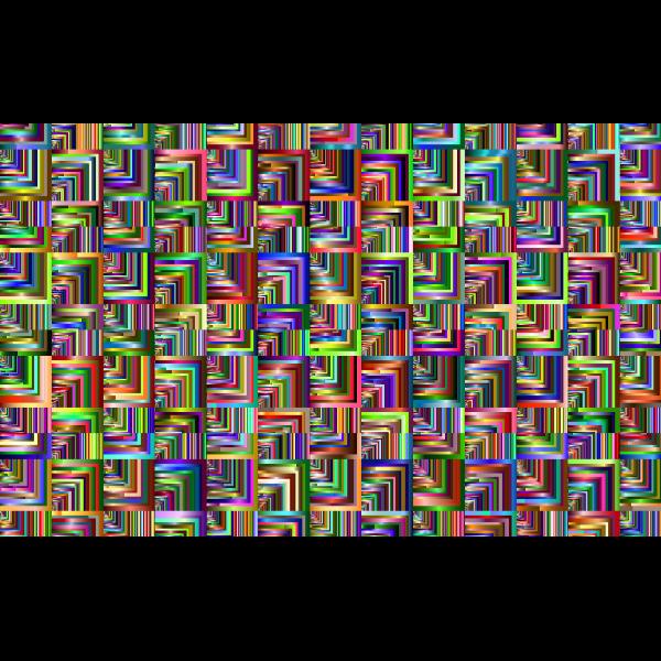 Prismatic Optical Illusion Pattern Clip Art