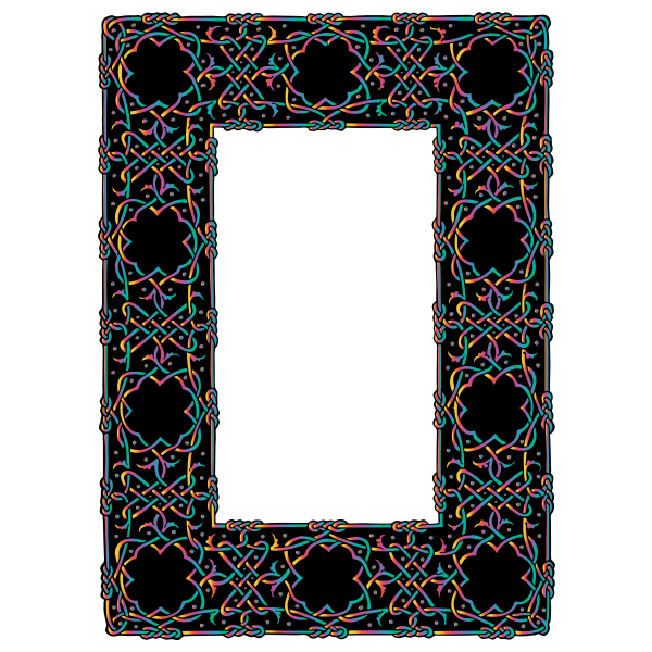 Ornate Geometric Frame (#2)