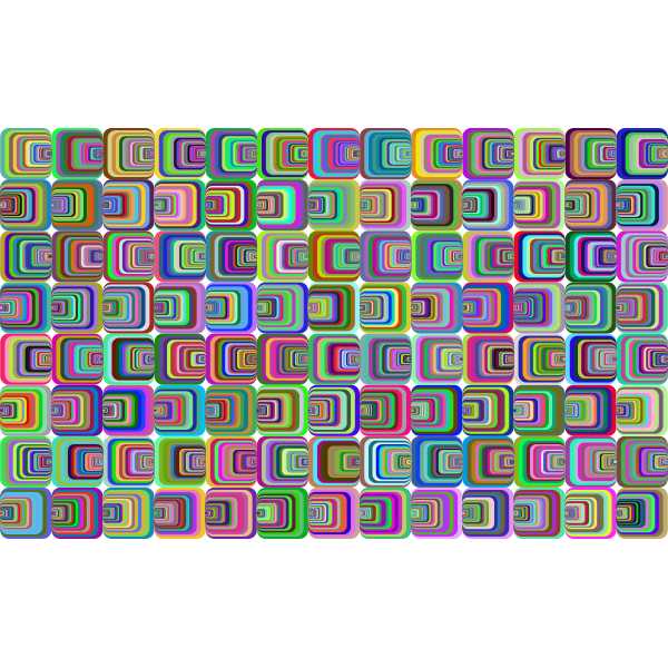 Prismatic Perspective Illusion 2 Pattern 2