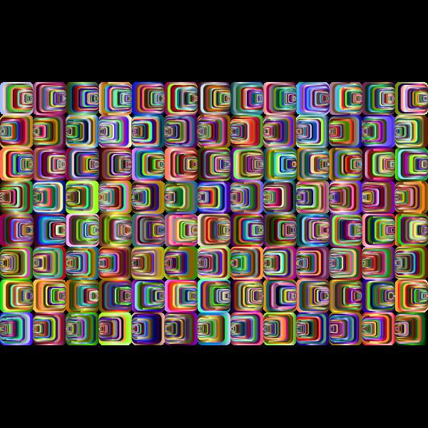 Prismatic Perspective Illusion 2 Pattern 3