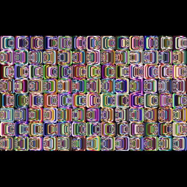 Prismatic Perspective Illusion 2 Pattern 4