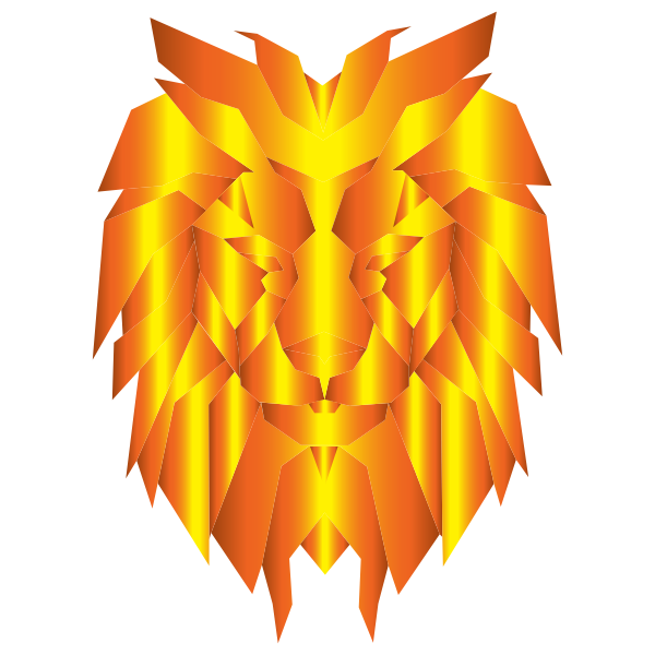 Prismatic Polygonal Lion Face 3