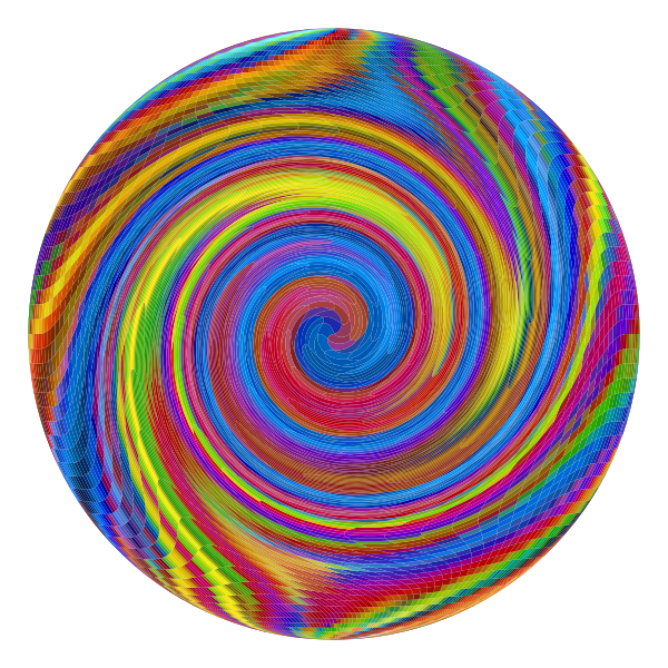 Prismatic Psychedelic Whirlpool