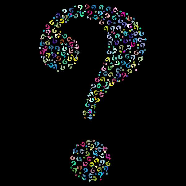 Prismatic Question Mark Fractal 5
