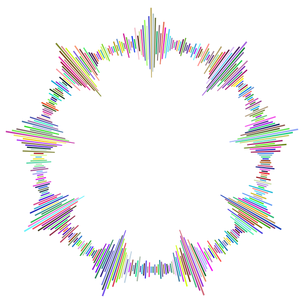 Prismatic Sound Amplitude Frame