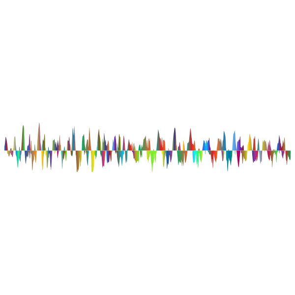 Prismatic Sound Wave Zoomed 2