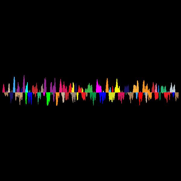 Prismatic Sound Wave Zoomed