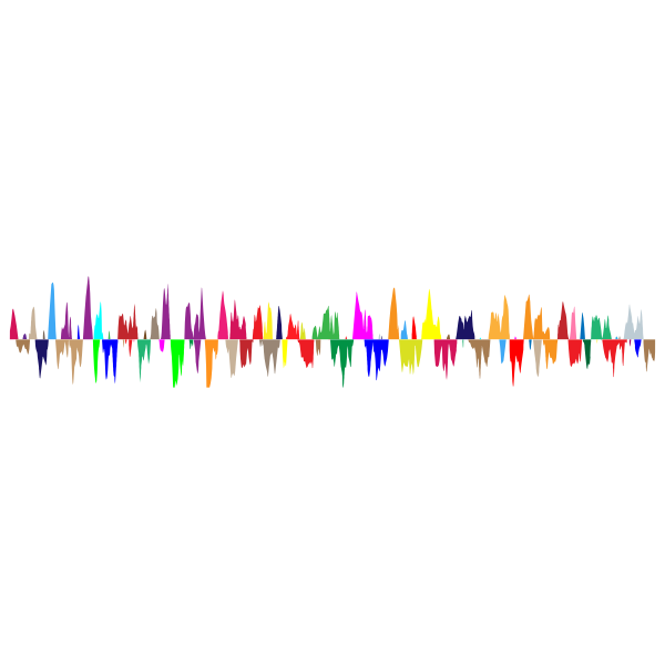 Prismatic Sound Wave Zoomed