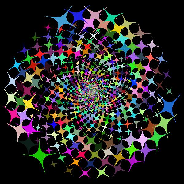 Prismatic Starburst Vortex