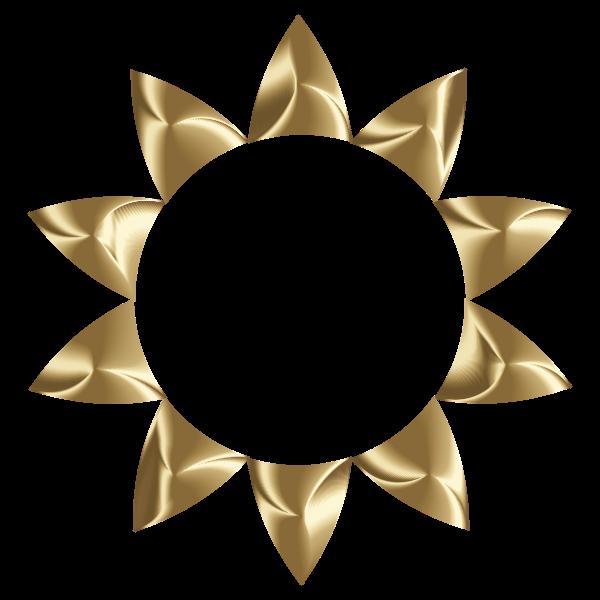 Prismatic Sun Line Art 2 No Background