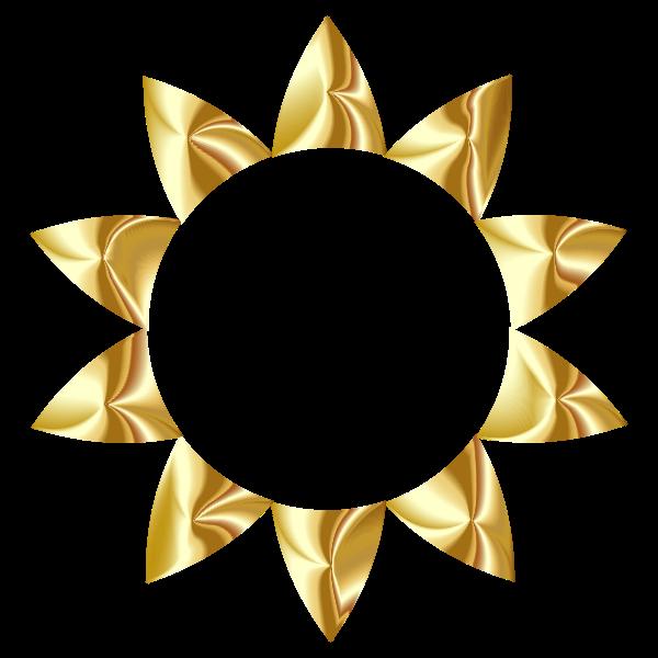 Prismatic Sun Line Art 3 No Background