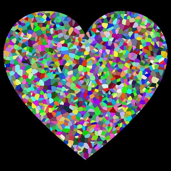 Prismatic Tiled Heart