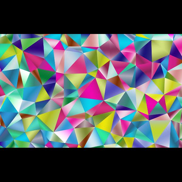 Prismatic Triangular Background