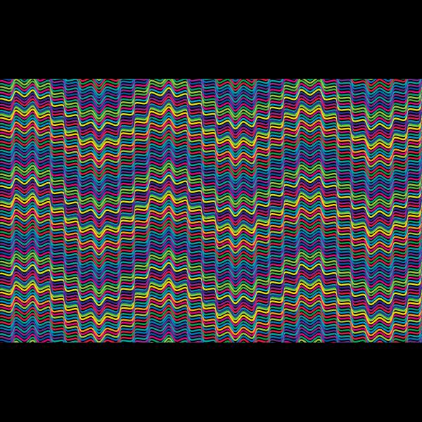 Prismatic Waves Background 2