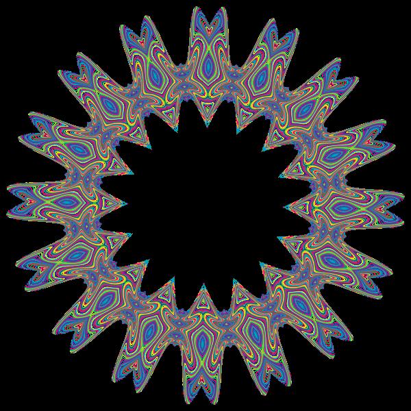 Prismatic Waves Design 10