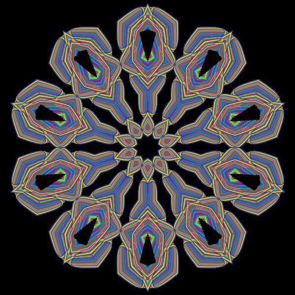 Prismatic Waves Design 14