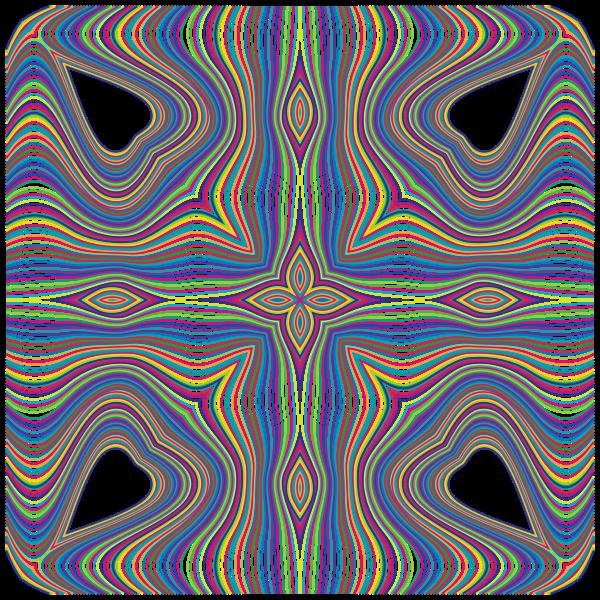 Prismatic Waves Design 4