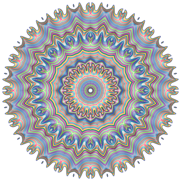 Prismatic Waves Design 9