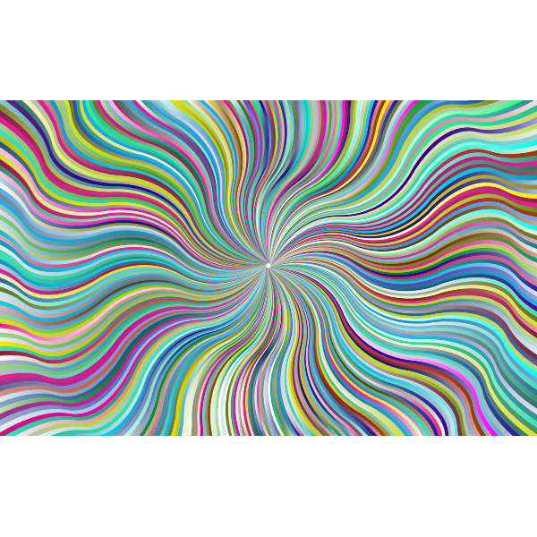 Prismatic Waves Starburst 6
