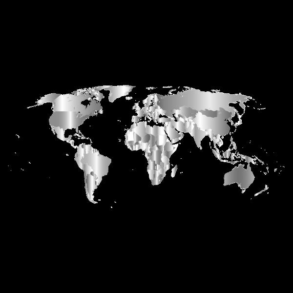 Prismatic World Map 6