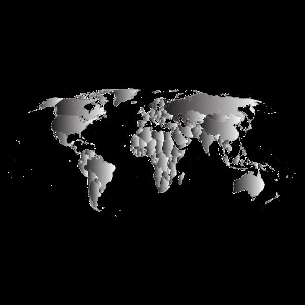 Prismatic World Map 7