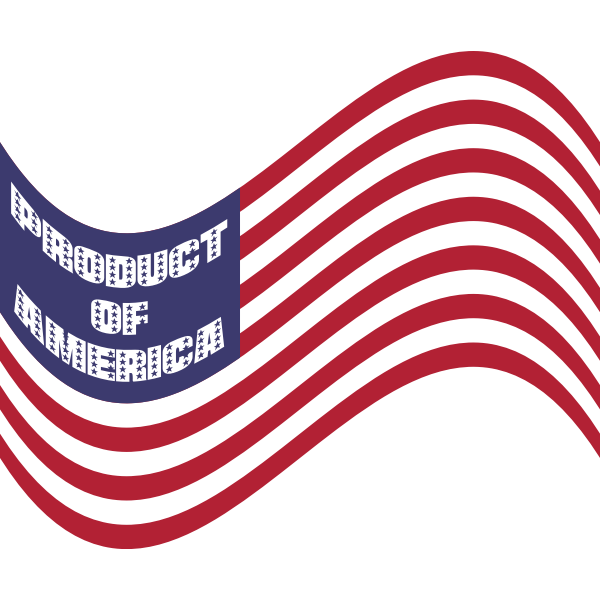 Product Of America Wavy Flag 2