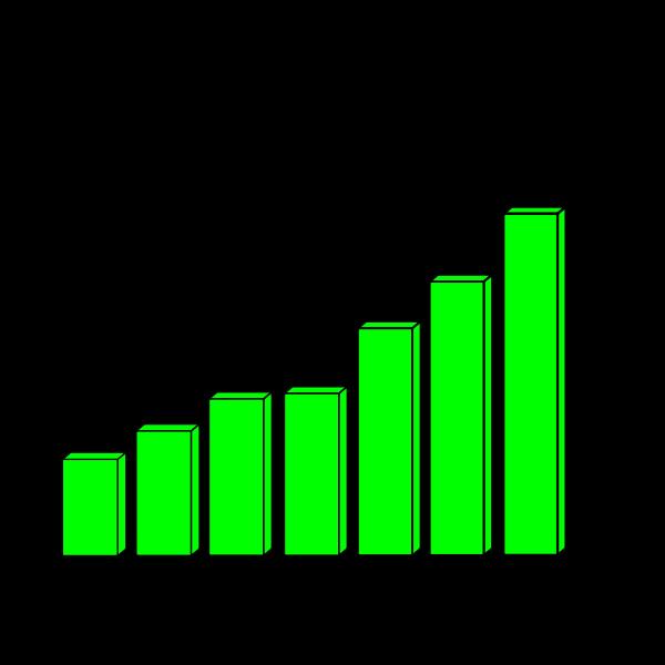 Profit Chart Curve Vector