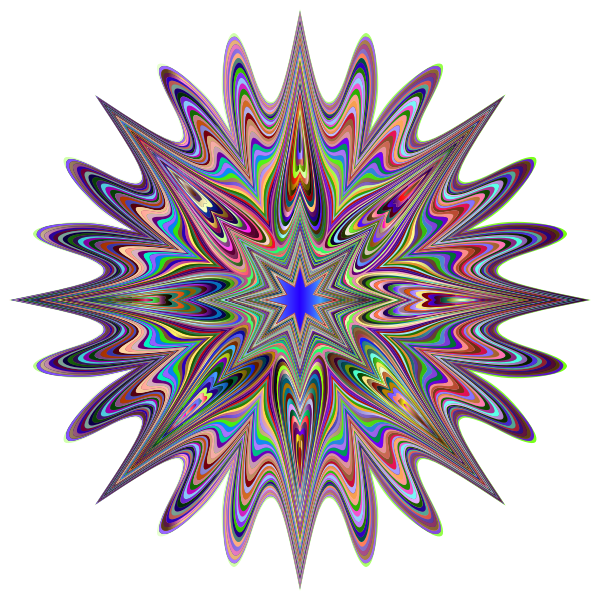 Psychedelic Chromatic Star