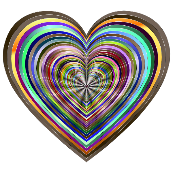 Psychedelic Hearts Tunnel 9 Variation 8