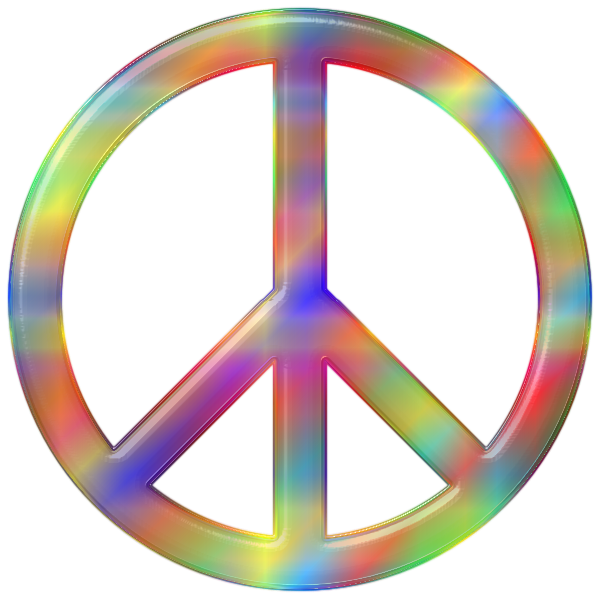 Psychedelic Peace Sign 3