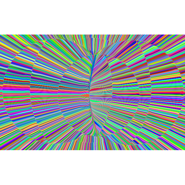 Psychedelic Radiation Background