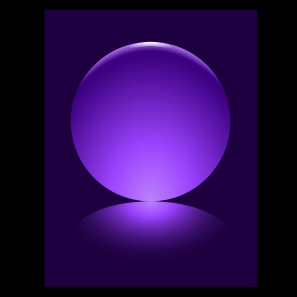 Purple Sphere