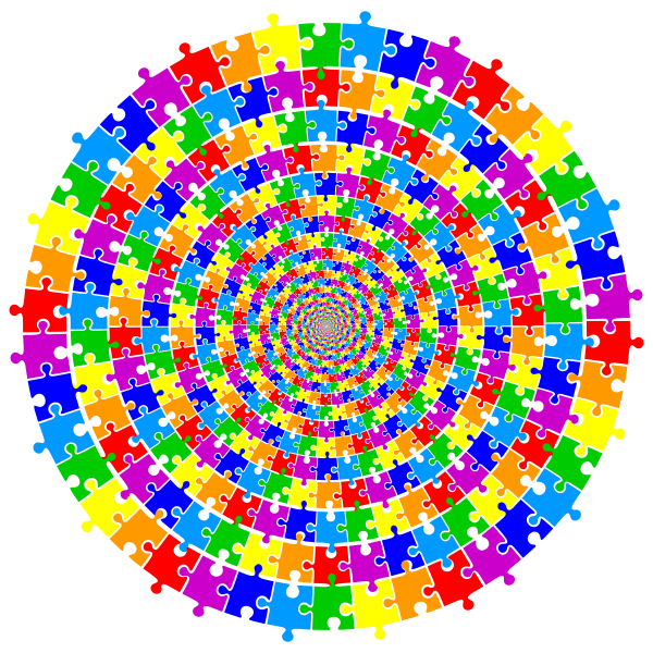Puzzle Pieces Vortex