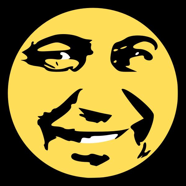 Pyetrosyan smile smiley vector image