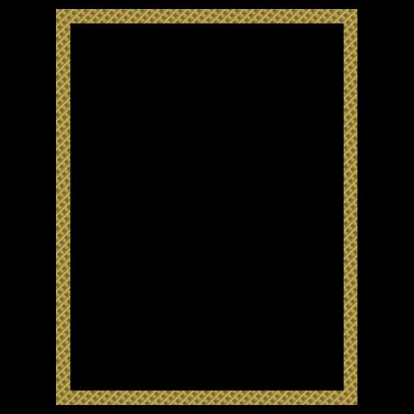 Quadrilateral Honeycomb Border
