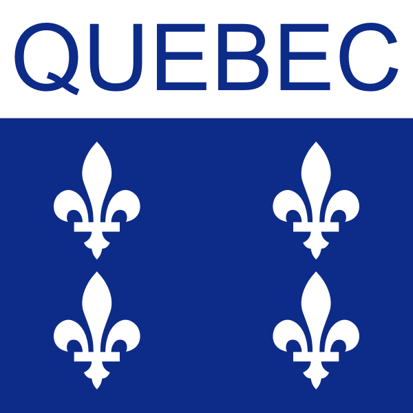 Quebec symbol vector drawing