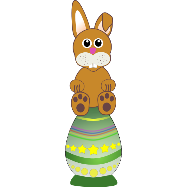 Bunny vector drawing